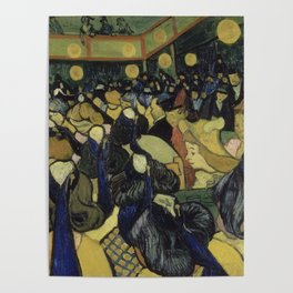 The Dance Hall in Arles Poster