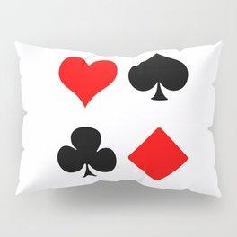 poker card figures Pillow Sham