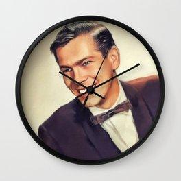 Johnnie Ray, Music Legend Wall Clock