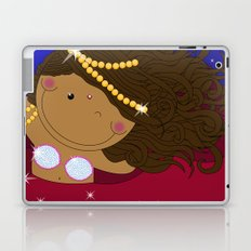Ruby - Fun, sweet, unique, creative and very colorful, original,digital children illustration Laptop & iPad Skin