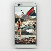 wreck it ralph iPhone & iPod Skins featuring The Wreck by Eugenia Loli