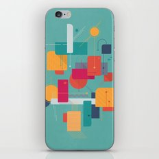 Thinking Of Summer iPhone & iPod Skin