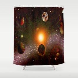 KANDY-VERSE - 106 Shower Curtain