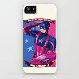 Bi Cap for America iPhone Case