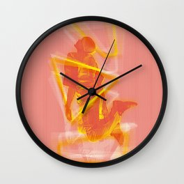 The Pyrotechnician Zacarias fire version (based on the story of Murilo Rubião) Wall Clock