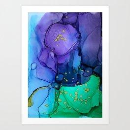 A Flower Grows In... Art Print