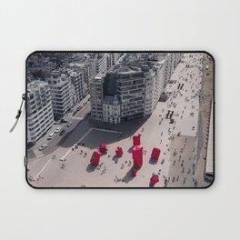 Oostende promenade, Belgium Laptop Sleeve
