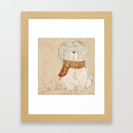"Luca. ""Bufandas"" Collection Framed Art Print"