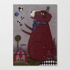 It's a Dog! Canvas Print