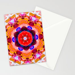 bright orange butterfly Stationery Cards