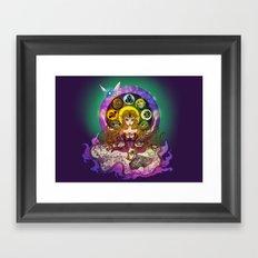 Mystic Zelda Framed Art Print