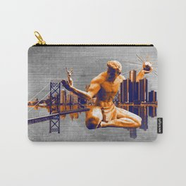 Detroit City Carry-All Pouch