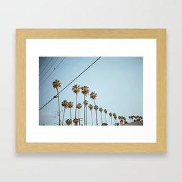 Silverlake  Framed Art Print