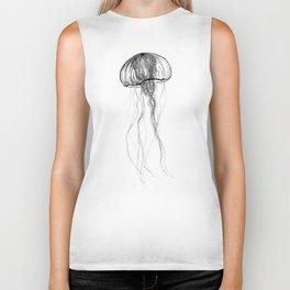 Luminous Jellyfish Biker Tank