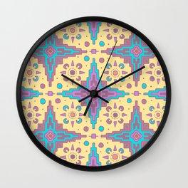 Sante Fe Pattern Wall Clock