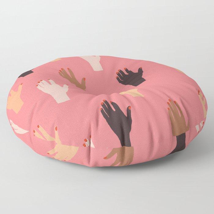 LADY FINGERS Floor Pillow