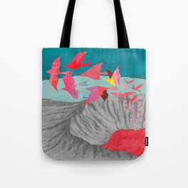 Wait for a Hundred Years Tote Bag