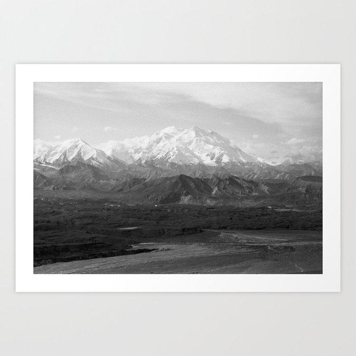 Mt McKinley Art Print