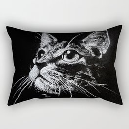 Cat Creta Rectangular Pillow