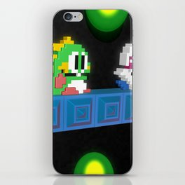 Inside Bubble Bobble iPhone Skin