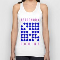 astronomy Tank Tops featuring ASTRONOMY DOMINE by Fab&Sab