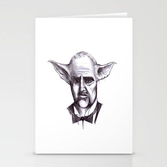 Yodafather Stationery Cards