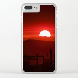 Red Skies At Night...TheFixx Clear iPhone Case