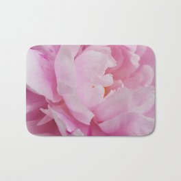 Floral Fun - Peony in pink 4 soft and billowy Bath Mat