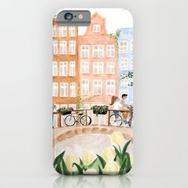 Amsterdam in the Spring iPhone Case