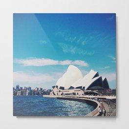 Sydney Sky Metal Print
