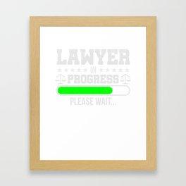 Lawyer  Law School Student Gift Framed Art Print