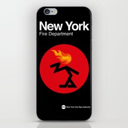 007 NEW YORK Fire Dept. - Edition_1 iPhone Skin