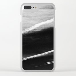 Ufo And Chemical Trails Clear iPhone Case