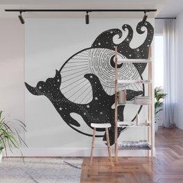 Galactic Orca Wall Mural