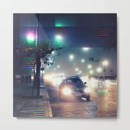 Another foggy night Metal Print