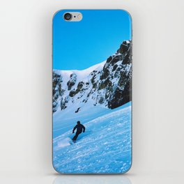 Skier  iPhone Skin