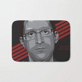 Edward Snowden Bath Mat