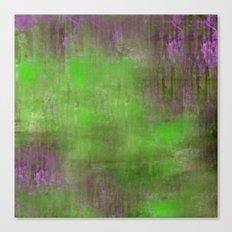Green Color Fog Canvas Print
