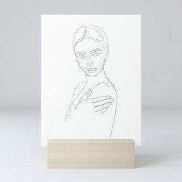 Sculpted Beauty Mini Art Print