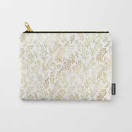 Beautiful Gold Pattern Carry-All Pouch
