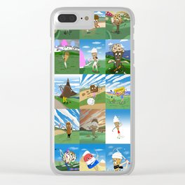 GOLF CREAM GREATEST HITS Clear iPhone Case