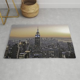 NYC City Scape - New York Photography Rug