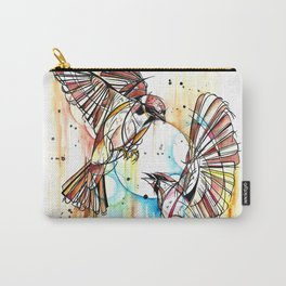 Geometric Sparrows Carry-All Pouch