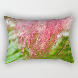 Pink Costa Rican Flower Rectangular Pillow