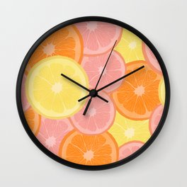 Citrus State of Mind Wall Clock
