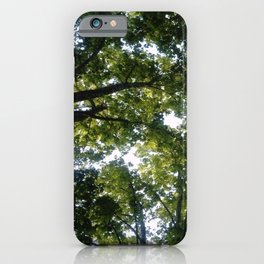 Nature and Greenery 11 iPhone Case