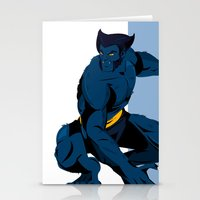 beast Stationery Cards featuring Beast by Andrew Formosa
