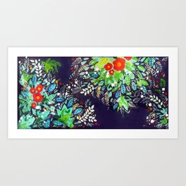 Frondage You Know Art Print