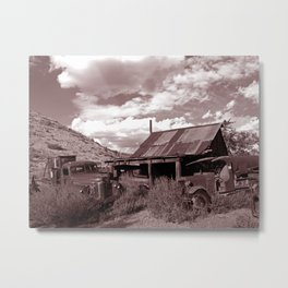 Gold King Mine Metal Print