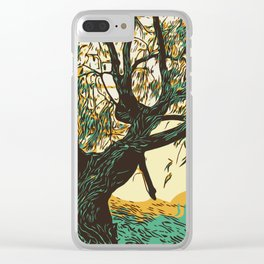 The Burial Ground Tree Clear iPhone Case